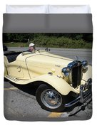 Vintage Mg Duvet Cover