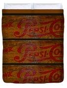 Vintage Pepsi  Duvet Cover