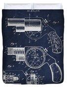 Vintage Pistol Patent From 1892 Duvet Cover