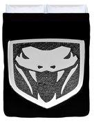 Viper Emblem Duvet Cover