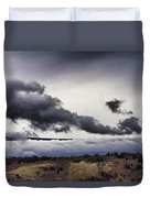 Volcano Vog Big Island Hawaii V2 Duvet Cover