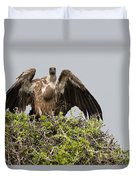 Vultures With Full Crops Duvet Cover