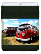Vw Micro Bus Duvet Cover