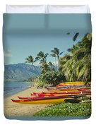 Kenolio Beach Sugar Beach Kihei Maui Hawaii  Duvet Cover