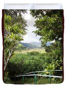 Wailua Valley State Wayside Duvet Cover