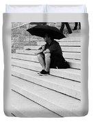 Waiting For Rain  Duvet Cover