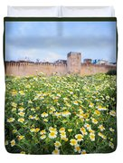 Walls Of Fes In Morocco Duvet Cover