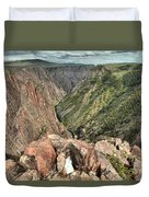 Walls Of The Black Canyon Duvet Cover