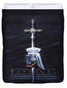 Warriors Duvet Cover by Cliff Hawley
