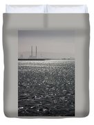 Water And Haze Duvet Cover