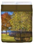 Water Fountain Duvet Cover
