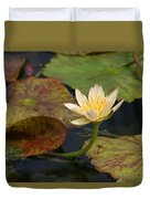 Water Lily 25 Duvet Cover
