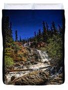 Waterfall In Jasper 1 Duvet Cover