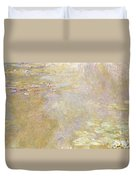 Waterlily Pond Duvet Cover