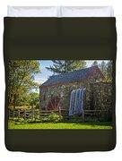 Wayside Inn Grist Mill Duvet Cover