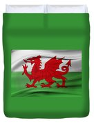 Welsh Flag Duvet Cover