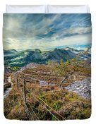 Welsh Mountains Duvet Cover