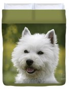 West Highland White Terrier Duvet Cover