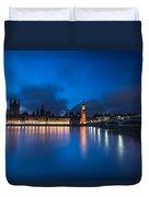 Westminster Blue Hour Duvet Cover