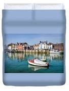 Weymouth Harbour Duvet Cover