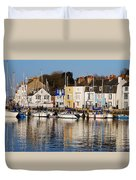 Weymouth In The Water Duvet Cover