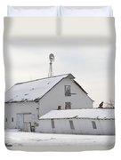 White Barn Duvet Cover