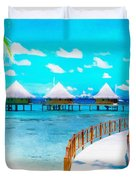 White Bay Duvet Cover