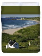 White Park Bay, Ireland Duvet Cover