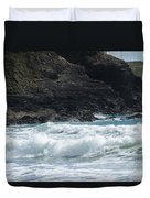 White Surf Duvet Cover