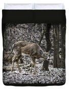 White-tail Deer Duvet Cover