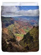 Wiamea Depth Duvet Cover by Mike  Dawson