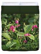 Wild Grass Flower Duvet Cover