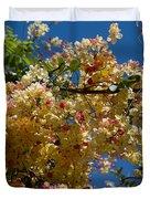 Wilhelmina Tenney Rainbow Shower Tree Duvet Cover