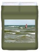 Wind Surfing Duvet Cover