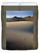 Wind Traces At The Desert Duvet Cover