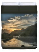 Winding Down Duvet Cover by Adam Jewell