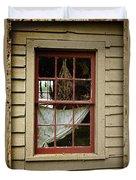 Window - Glimpse Into The Past Duvet Cover