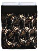 Wine Bottles Duvet Cover