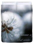 Winter Duvet Cover by Darren Fisher