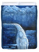 Winter Goddess Duvet Cover