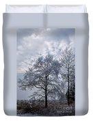 Winter Lace Duvet Cover