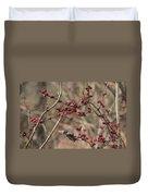 Winterberries Duvet Cover