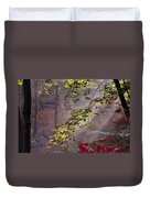 Wissahickon Autumn Duvet Cover by Bill Cannon