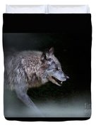 Wolf On The Prowl Duvet Cover