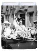 Women's Suffrage, 1913 Duvet Cover