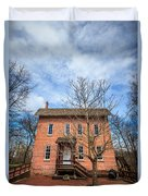 Wood's Grist Mill In Deep River County Park Duvet Cover