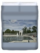 World War 2 Memorial Duvet Cover