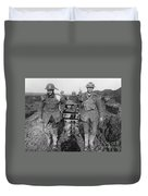 World War I: Soldiers Duvet Cover