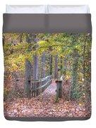 Wye Island Trail  Duvet Cover