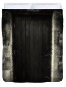 Victorian Cottage Door  Duvet Cover
